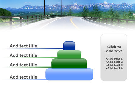 Highway In The Hill Country PowerPoint Template Slide 8