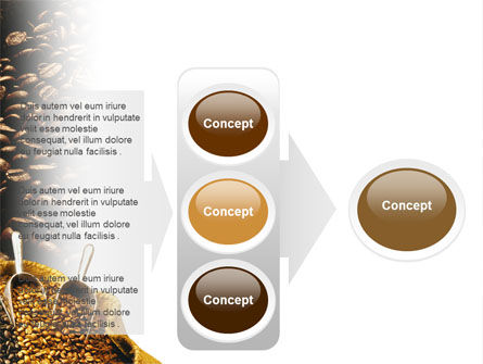 Coffee Beans In A Bag PowerPoint Template Slide 11
