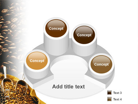 Coffee Beans In A Bag PowerPoint Template Slide 12