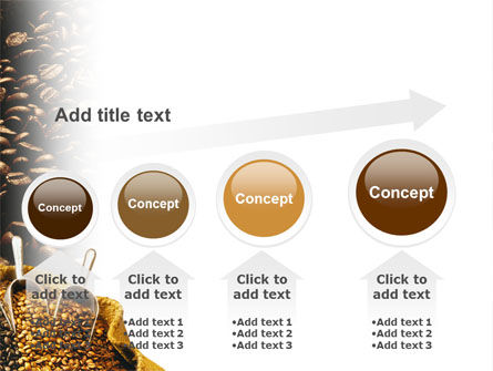 Coffee Beans In A Bag PowerPoint Template Slide 13