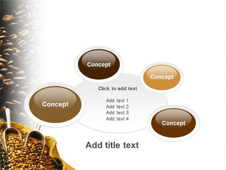 Coffee Beans In A Bag PowerPoint Template Slide 16