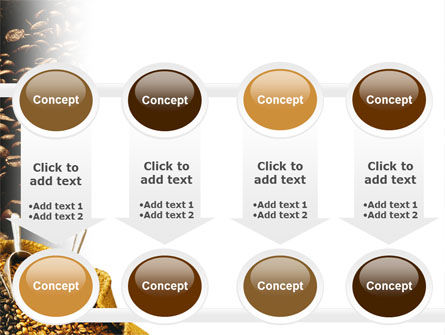 Coffee Beans In A Bag PowerPoint Template Slide 18