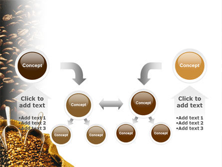 Coffee Beans In A Bag PowerPoint Template Slide 19