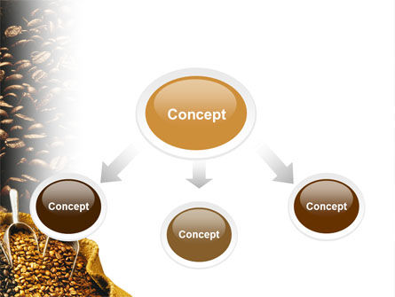 Coffee Beans In A Bag PowerPoint Template Slide 4
