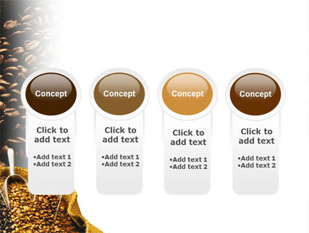 Coffee Beans In A Bag PowerPoint Template Slide 5