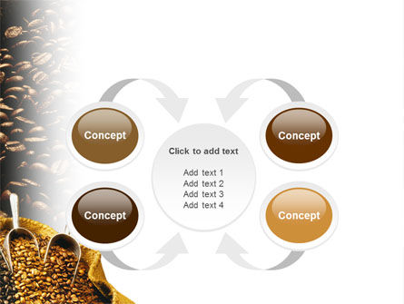 Coffee Beans In A Bag PowerPoint Template Slide 6
