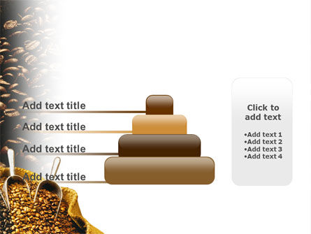 Coffee Beans In A Bag PowerPoint Template Slide 8