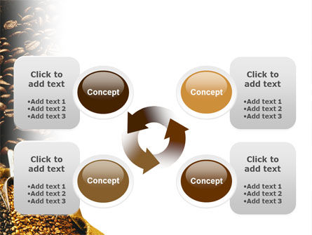 Coffee Beans In A Bag PowerPoint Template Slide 9