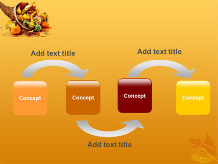 Thanksgiving PowerPoint Template, Slide 4, 01615, Holiday/Special Occasion — PoweredTemplate.com