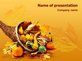 Holiday/Special Occasion: Templat PowerPoint Thanksgiving #01615