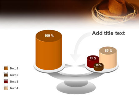 Cowboy Hat PowerPoint Template Slide 10