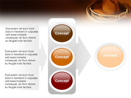 Cowboy Hat PowerPoint Template Slide 11
