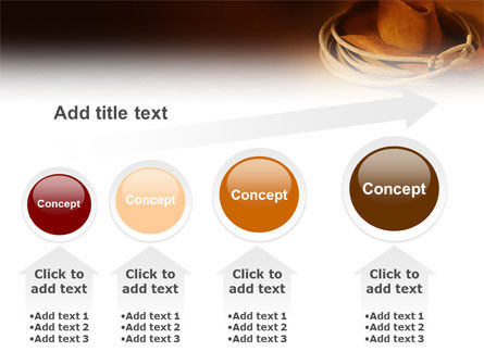 Cowboy Hat PowerPoint Template Slide 13