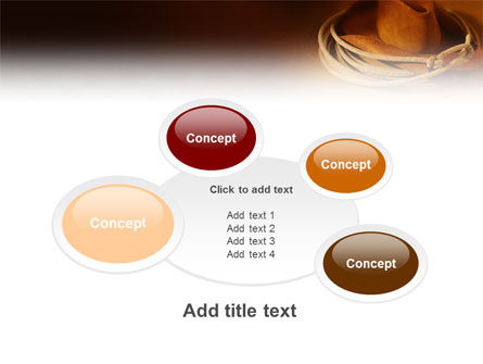 Cowboy Hat PowerPoint Template Slide 16