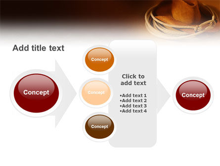 Cowboy Hat PowerPoint Template Slide 17