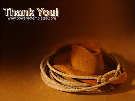 Cowboy Hat PowerPoint Template Slide 20