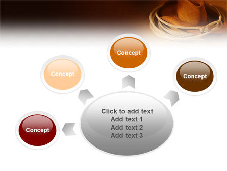 Cowboy Hat PowerPoint Template Slide 7
