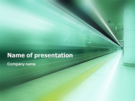 Business Concepts: Speed up PowerPoint Template #01617