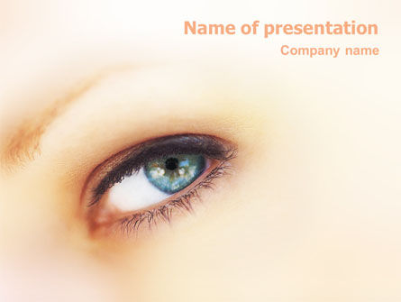 Careers/Industry: Look PowerPoint Template #01618