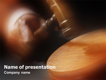 Legal: Legal PowerPoint Template #01625