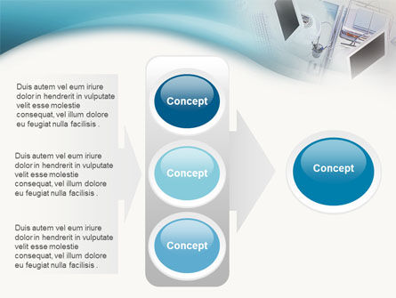 Office Work PowerPoint Template Slide 11