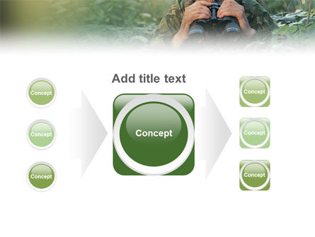 Military PowerPoint Template Slide 17