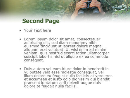 Military PowerPoint Template Slide 2