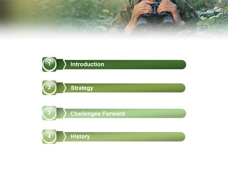Military PowerPoint Template Slide 3