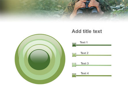 Military PowerPoint Template Slide 9