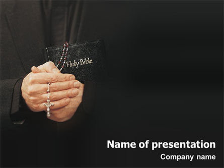 Religious/Spiritual: Templat PowerPoint Rohani #01630