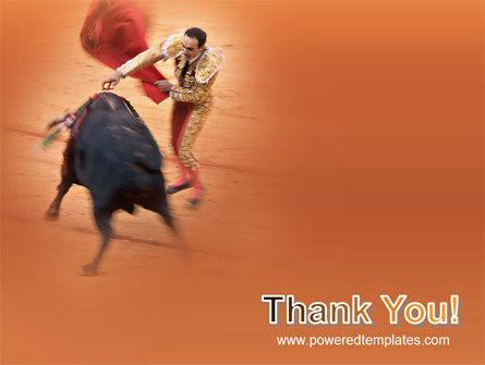 Corrida PowerPoint Template Slide 20