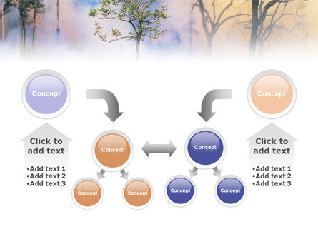 Forest Fire PowerPoint Template Slide 19