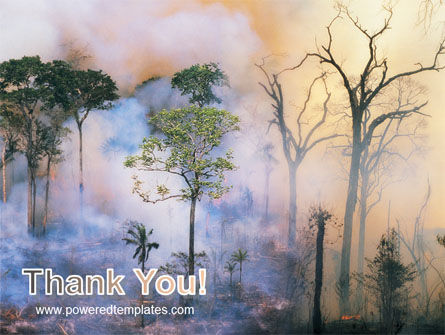 Forest Fire PowerPoint Template Slide 20