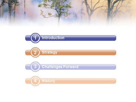 Forest Fire PowerPoint Template Slide 3