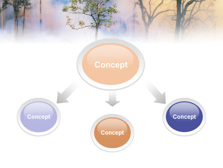 Forest Fire PowerPoint Template Slide 4