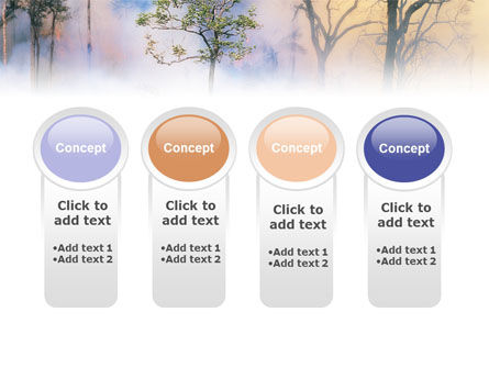 Forest Fire PowerPoint Template Slide 5