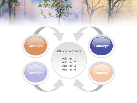 Forest Fire PowerPoint Template Slide 6