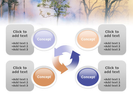 Forest Fire PowerPoint Template Slide 9