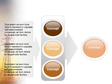 Power Line PowerPoint Template Slide 11
