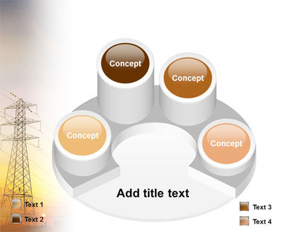 Power Line PowerPoint Template Slide 12