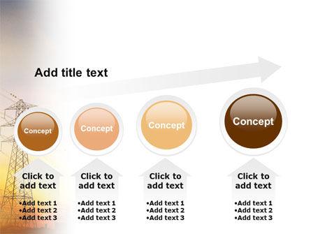 Power Line PowerPoint Template Slide 13
