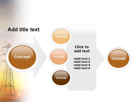 Power Line PowerPoint Template Slide 17