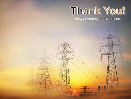 Power Line PowerPoint Template Slide 20