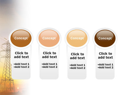 Power Line PowerPoint Template Slide 5