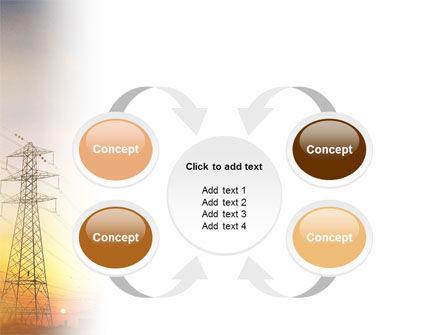 Power Line PowerPoint Template Slide 6