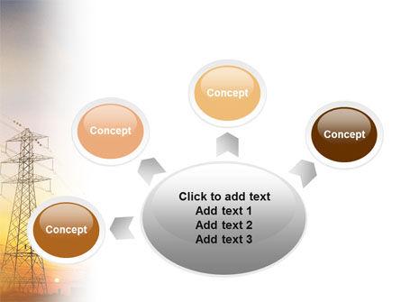 Power Line PowerPoint Template Slide 7
