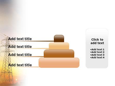 Power Line PowerPoint Template Slide 8
