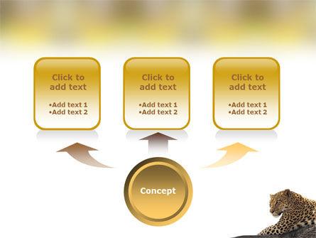 Leopard PowerPoint Template, Slide 4, 01640, Animals and Pets — PoweredTemplate.com