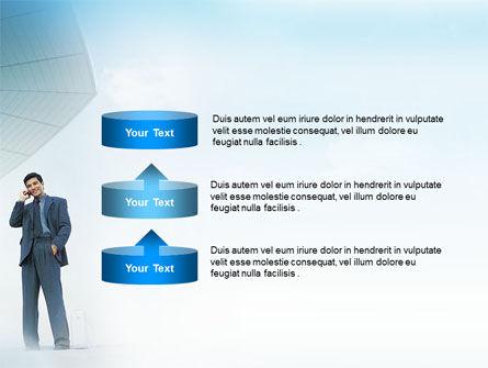 Business Talk Outdoor PowerPoint Template Slide 10