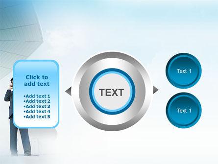 Business Talk Outdoor PowerPoint Template Slide 12
